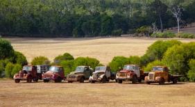 Trucks in Retirement