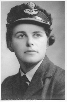 Katharine Stukely nee Connal 1912-1983. BSc (Hons), Squadron Officer, OBE, Olympian 1936. Another story to tell. Mum.