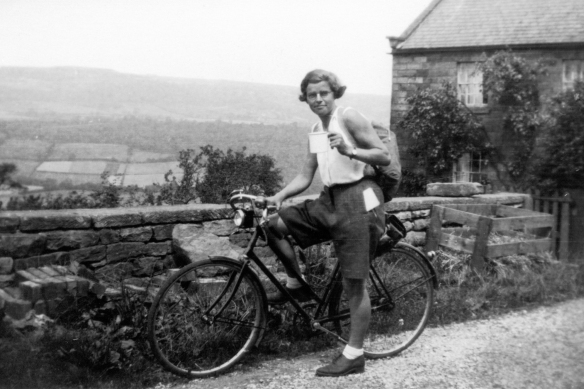 Connal Kit Cycling in Scotland 1934